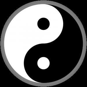 Taiji-Symbol, Yin-Yang